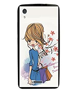Techno Gadgets Back Cover for Gionee Pioneer P5 mini