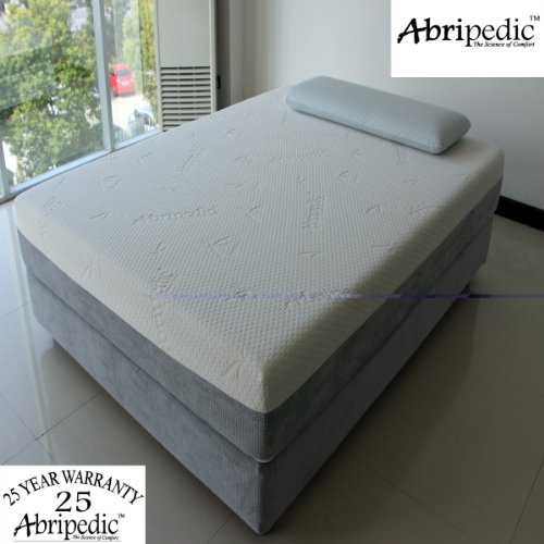 Abripedic By Royal'S Full Size Mattress 10-Inches Memory Foam Mattress 100% Certipur-Us Foam - 25-Year Warranty