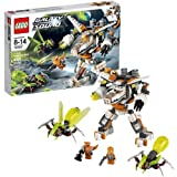 Lego Year 2013 Galaxy Squad Series Vehicle Set #70707 - ERADICATOR MECH With Removable Galaxy Jet Rapid-Fire Flick...