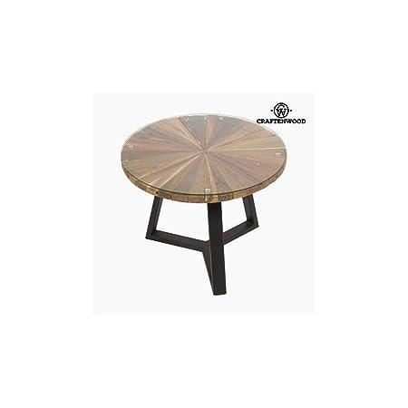 Tavolino da Caffè Rotunda Legno (60 x 60 x 45 cm) - Autumn Collezione by Craftenwood