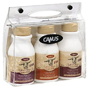 Canus Goat's Milk All Natural Lotion Set