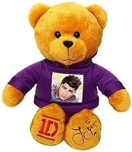 One Direction 52394-6 - Plüsch, 23 cm mit dem Foto von Zayn auf dem T-Shirt