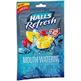 Halls Refresh Mouth Watering - Lemon Raspberry - 2 flavors in 1 Drop