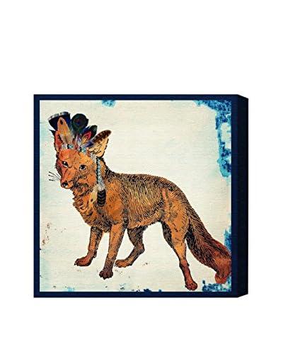 Oliver Gal Wild Fox Canvas Art