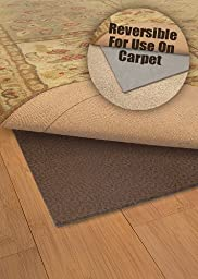 Deluxe All-Surface Non-skid Area Rug Pad for 4-Feet by 6-Feet Rug