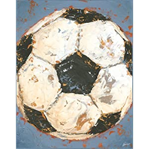 Soccer Game Day Series Canvas