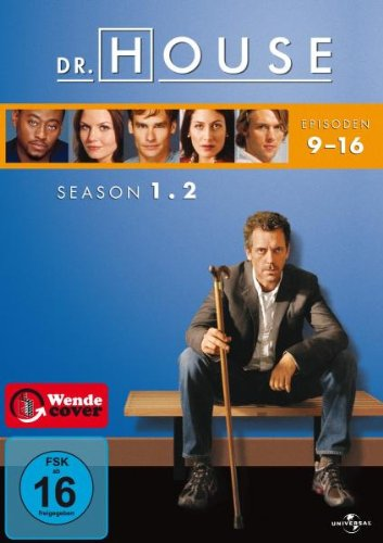 Dr. House - Season 1.2, Episoden 09-16 [3 DVDs]