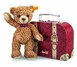 Steiff Carlo Teddy Bear In Suitcase (シュタイフ・カルロ・テディ・ベア・イン・スーツケース) 【平行輸入品】