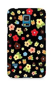 Amez designer printed 3d premium high quality back case cover for Samsung Galaxy S5 Mini (Cute Pattern 1)