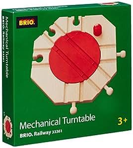Brio  - 33361 -  Circuit de train en bois  -  Plaque tournante mécanique