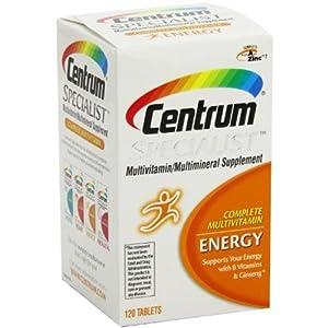 Centrum Specialist Complete Multivitamin Energy - Case Pack of 3