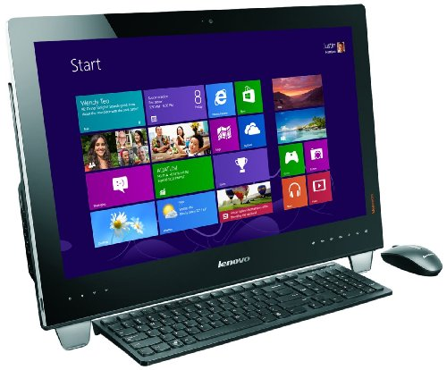 Lenovo Ideacentre B340 21.5-inch 10p Touch All-In-One PC (Intel Core i3 3220 3.3GHz Processor, 4GB RAM, 1TB HDD, DVDRW, LAN, WLAN, Webcam, Windows 8)