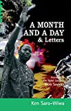 img - for A Month and A Day & Letters book / textbook / text book
