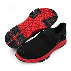 Vector X mens Black & Red Synthetic sneakers (0) -Ind/Uk 6