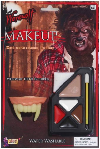 Forum Novelties 199242 Werewolf Makeup Kit - 1