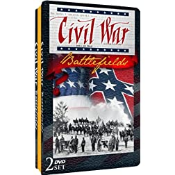 Civil War Battlefields - Embossed Slim Tin