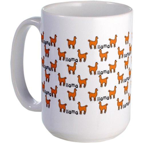 Llama Mania Large Mug