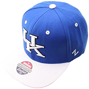 Buy NCAA Kentucky Wildcats Apex Snapback Hat, Surf Royal by Zephyr