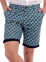 BLUE COAST YACHTING Geometrical Shorts Geometrical Shorts (AZUL CLARO)