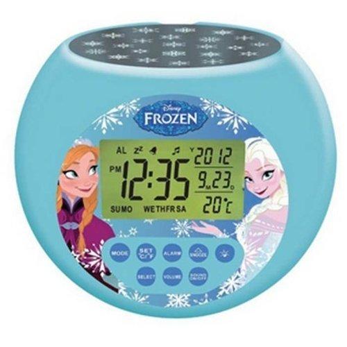 Lexibook RL975FZ Frozen - Reloj despertador con proyector, modelos surtidos, 1 unidad