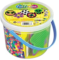 Perler Beads 6,000 Count Bucket-Multi…