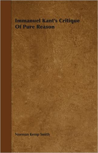 Immanuel Kant's Critique Of Pure Reason