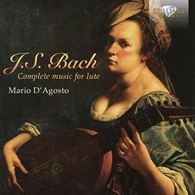 Suite in E Minor, BWV 996: V. Bourr�e