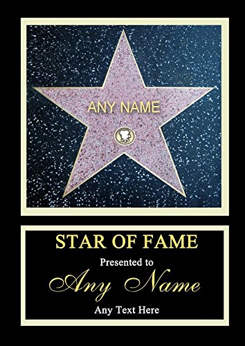 hollywood-star-walk-of-fame-personalised-certificate