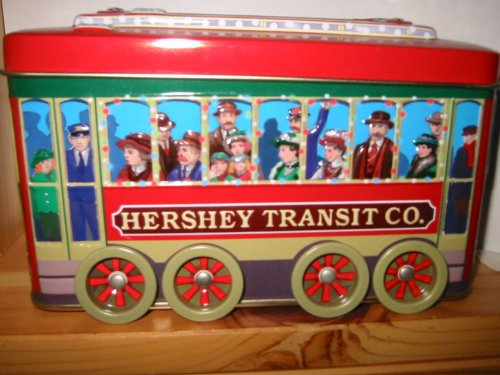 Hershey Transit Co. Tin w/ Working Wheels - 1