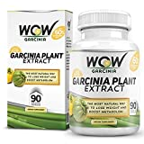Wow Garcinia Cambogia , 90 Veg Capsules, Pack Of 1 - 100% Natural - Highly Recommended Best Weight Loss Supplement...