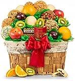 Fresh Fruit & Gourmet Cookies Basket