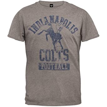 Indianapolis Colts - Vintage Logo Soft T-Shirt by NFL