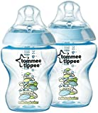 Tommee Tippee Closer to Nature Biberones de decorado�-�2�x 260�ml botellas azul azul