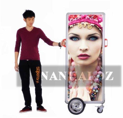 Stnanhai Super Deals Top Quality,Indoor/Outdoor Billboard Poster Sign,Backlit Black High Brightness For Promotion