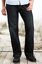 North Coast Pure Cotton Straight Leg Jeans [T17-6917N-S]