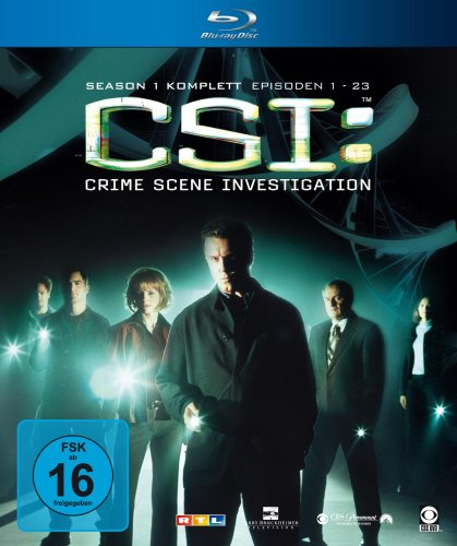 CSI: Crime Scene Investigation - komplette Season 1 [Blu-ray]