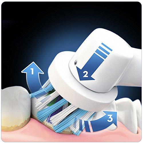 Oral-B Genius 8900 Elektrische Zahnbürste (Oral-Bs beste elektrische Zahnbürste mit 2. Handstück, Positionserkennung, Litium-Akku, Bluetooth, Timer, Reiseetui, CrossAction, 3DWhite, powered by Braun) -