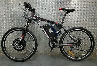 Customised Pedalease Electric bike 48v 1000w 21 speed samsung cell battery