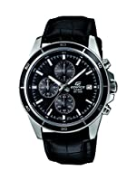 Casio Edifice Chronograph Black Dial Men's Watch - EFR-526L-1AVUDF (EX096)
