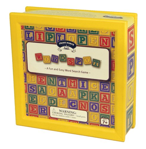 WordSpot Junior - Buy WordSpot Junior - Purchase WordSpot Junior (Front Porch Classics, Toys & Games,Categories,Games,Board Games,Word Games)