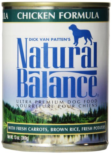 Natural Balance Ultra Premium Chicken Canned Dog Formula, Case of 12 Cans/13 Oz (Natural Balance Canned compare prices)