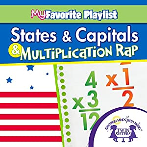 States and Capitals, and Multiplication Rap Audiobook