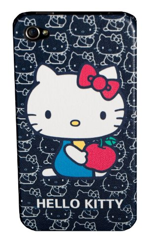 Hello Kitty iPhone 4 Hard Case Black