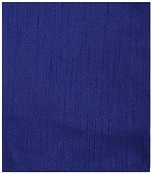 Ajit Creations Men's Kurta Fabric (AC12_Blue & Tassar)
