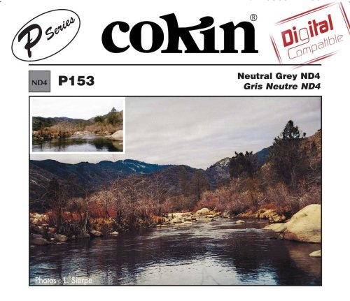 Cokin P153 Neutral Grey ND4X Square Filter