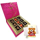 Lovable Combination Of Love Chocolates With Sorry Card - Chocholik Belgium Chocolates