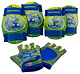 Schwinn Boys Pad Set with Knee Elbow and Gloves
