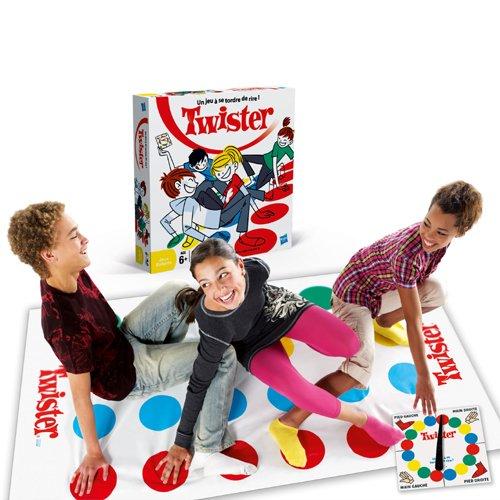 Imagen principal de Hasbro 16965 Twister - Juego de equilibrio (instrucciones en francés)