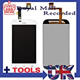 White completed lcd screen+touch panel digitizer Assembly for HTC one SV C525e