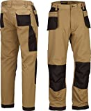 Mens Work Trousers Tuff Multi Pocket Trade Extreme Pro Pants Triple Stitched Workwear Adults FREE DELIVERY